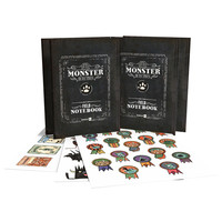 LITTLE MONSTER DETECTIVES: FIELD NOTEBOOKS PACK