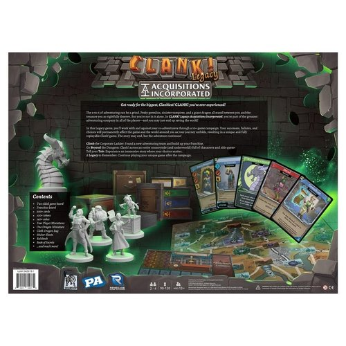 Renegade Games Studios CLANK! LEGACY ACQUISITIONS INC