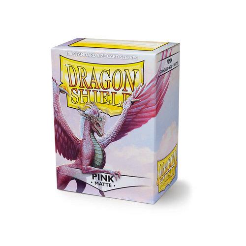 Arcane Tinmen DRAGON SHIELD: MATTE PINK (100)