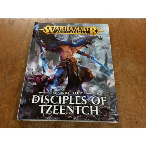 Games Workshop BATTLETOME: DISCIPLES OF TZEENTCH (op)
