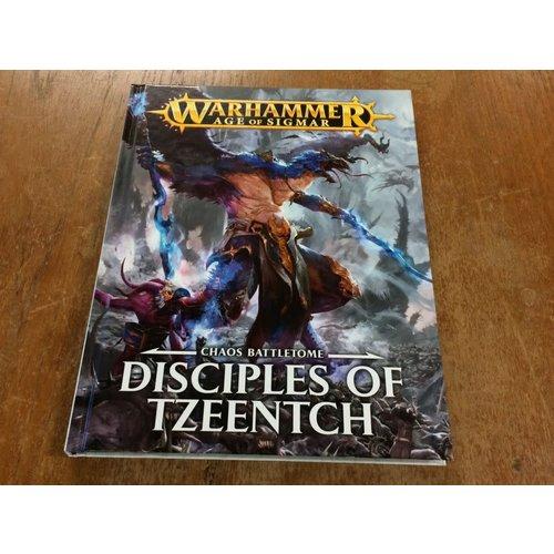 Games Workshop BATTLETOME: DISCIPLES OF TZEENTCH (op)