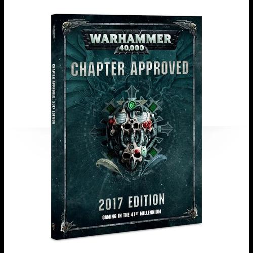 Games Workshop 40K CHAPTER APPROVED 2017