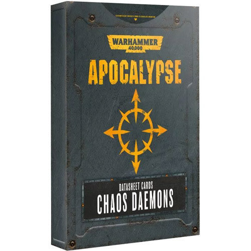 Games Workshop 40K APOCALYPSE DAEMONS D/SHEET