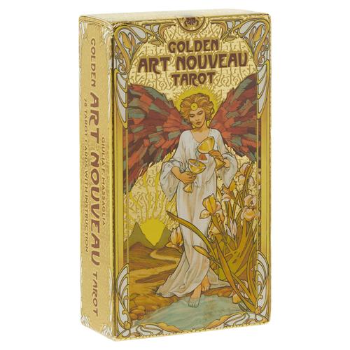 LLEWELLYN WORLDWIDE GOLDEN ART NOUVEAU TAROT