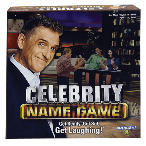 PLAYMONSTER (PATCH PRODUCTS) CELEBRITY NAME GAME