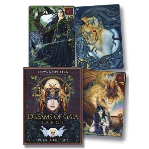 LLEWELLYN WORLDWIDE DREAMS OF GAIA TAROT, POCKET EDITION