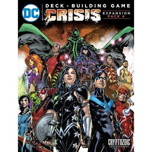 Cryptozoic Entertainment DC Comics Deck-Building Game: Crisis Expansion Pack 4