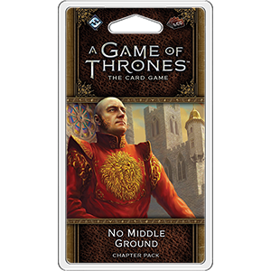 Fantasy Flight Games GAME OF THRONES LCG (2E) NO MIDDLE GROUND