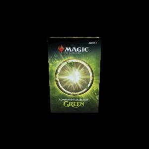 Wizards of the Coast MTG: COMMANDER COLLECTION - GREEN CARTON