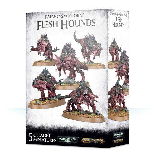Games Workshop DAEMONS FLESH HOUNDS