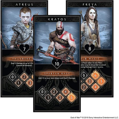 CMON GOD OF WAR: THE CARD GAME