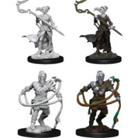 MINIS: MTG: STONEFORGE MYSTIC & KOR HOOKMASTER (FIGHTER, ROGUE, WIZARD)