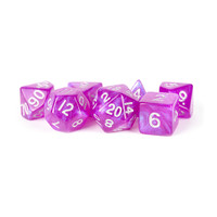 DICE SET 7 STARDUST: PURPLE