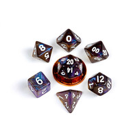 DICE SET 7 MINI STARDUST: GALAXY
