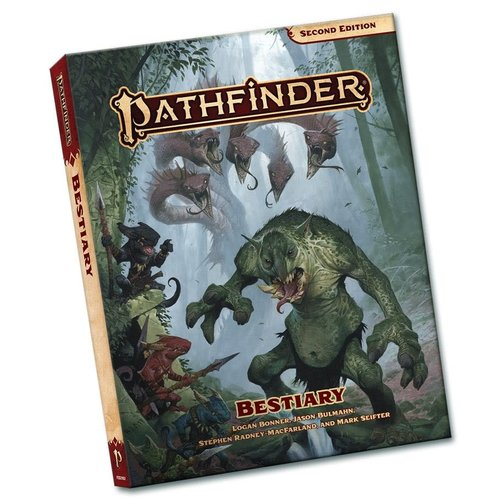 Paizo Publishing PATHFINDER 2ND EDITION: BESTIARY - POCKET EDITION