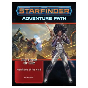 Paizo Publishing STARFINDER: ADVENTURE PATH: FLY FREE OR DIE 2 - MERCHANTS OF THE VOID