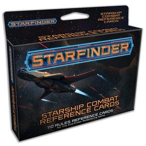 Paizo Publishing STARFINDER: STARSHIP COMBAT REFERENCE CARDS