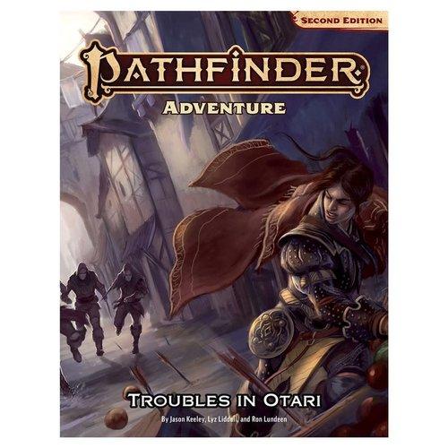 Paizo Publishing PATHFINDER 2ND EDITION: ADVENTURE - TROUBLES IN OTARI