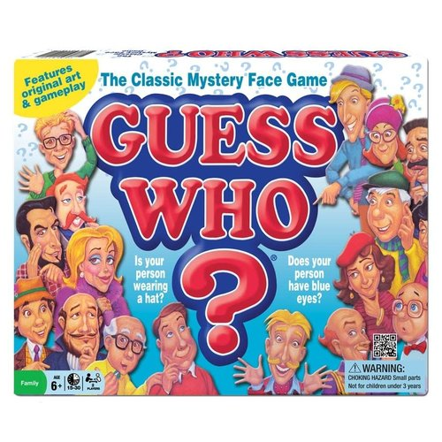 WINNING MOVES GUESS WHO ORIGINAL