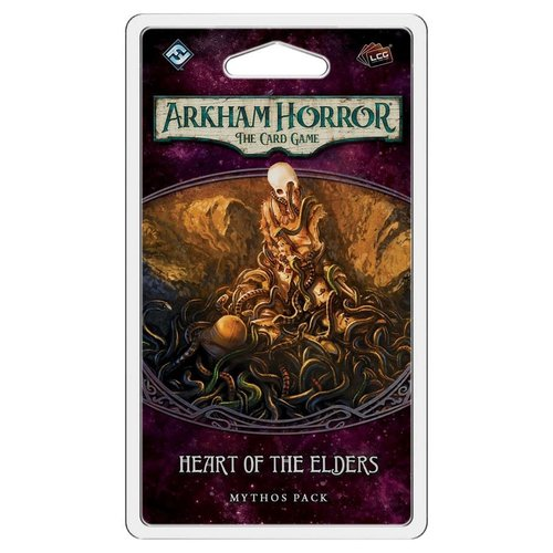 Fantasy Flight Games ARKHAM HORROR LCG: HEART OF THE ELDERS MYTHOS PACK