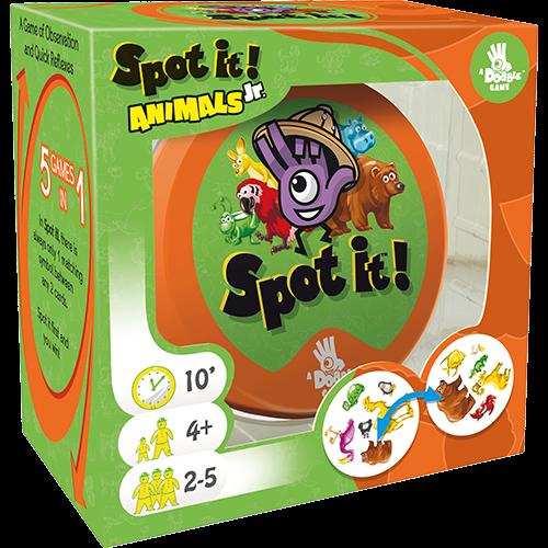 Zygomatic SPOT IT! JR - ANIMALS