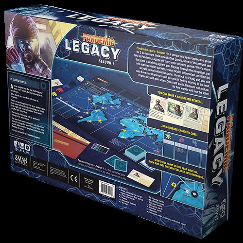 Z-Man Games PANDEMIC: LEGACY SEASON 1 - BLUE EDITION