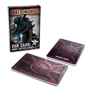 Games Workshop NECROMUNDA: VAN SAAR GANG TACTICS CARDS