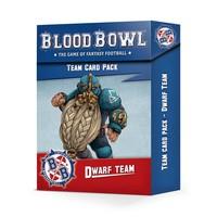 BLOOD BOWL: DWARF TEAM CARD PACK