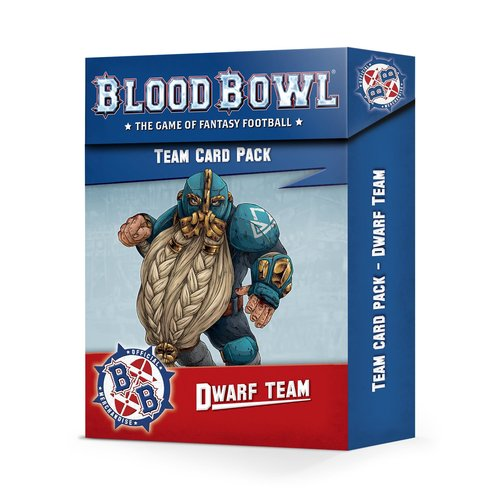 Games Workshop BLOOD BOWL: DWARF TEAM CARD PACK