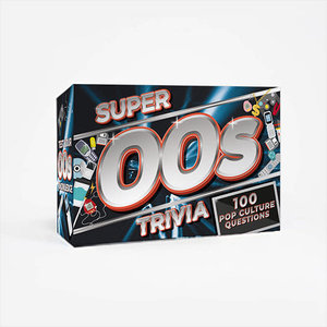 Gift Republic TRIVIA- SUPER 00'S