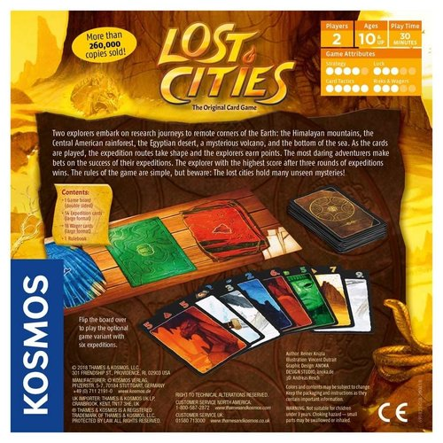 Thames & Kosmos LOST CITIES