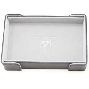 Die Hard Dice DICE TRAY: MAGNETIC GRAY RECTANGLE