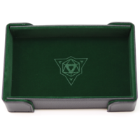 DICE TRAY: MAGNETIC GREEN RECTANGLE