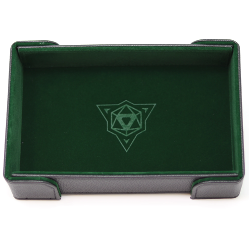 Die Hard Dice DICE TRAY: MAGNETIC GREEN RECTANGLE