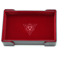 DICE TRAY: MAGNETIC RED RECTANGLE