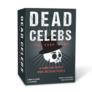 Gift Republic DEAD CELEBS - THE CARD GAME