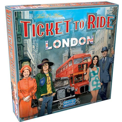 Days of Wonder TICKET TO RIDE: LONDON