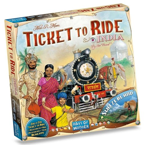 Days of Wonder TICKET TO RIDE: INDIA MAPS COLLECTION 2