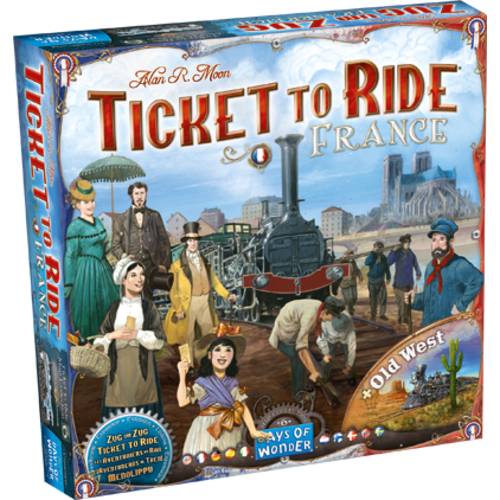 Days of Wonder TICKET TO RIDE: FRANCE & OLD WEST MAP COLLECTION 6
