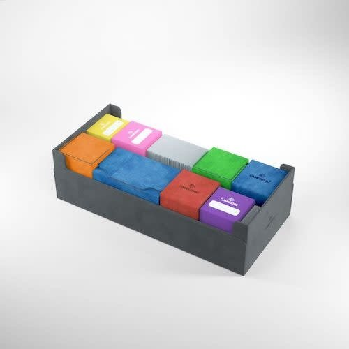 GAMEGENIC DECK BOX: DUNGEON 1100+ MIDNIGHT GRAY