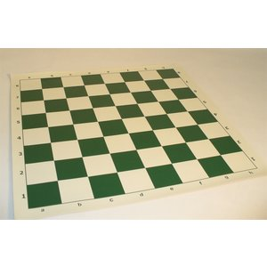 "Worldwise Imports CHESS BOARD 20"" VINYL ROLL UP MAT w/ 2.25"" SQUARES"