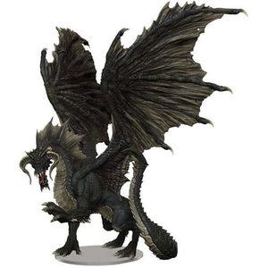 Wizkids MINIS: D&D: ICONS OF THE REALMS: ADULT BLACK DRAGON - PREMIUM FIGURE