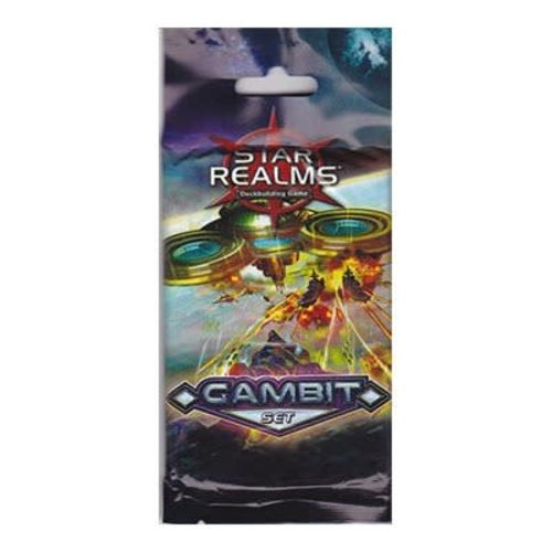 White Wizard Games STAR REALMS: GAMBIT BOOSTER