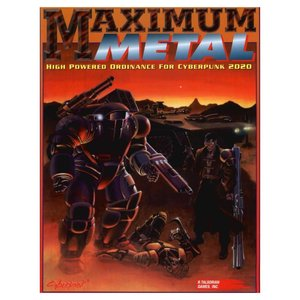 R. Talsorian Games CYBERPUNK 2020: MAXIMUM METAL
