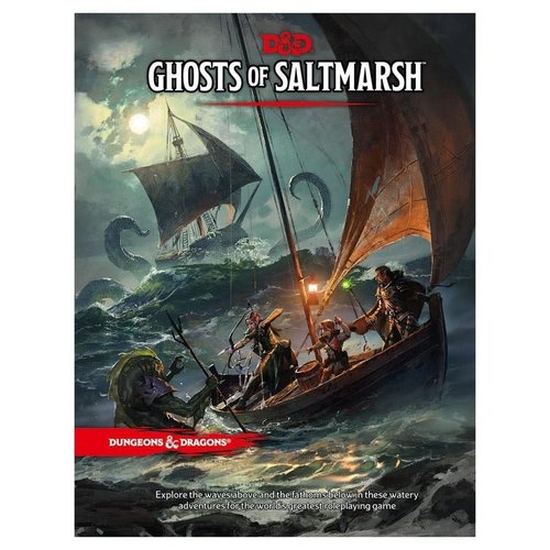 Wizards of the Coast D&D 5E: GHOSTS OF SALTMARSH