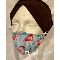 PROTECTIVE MASK, FABRIC - CHRISTMAS (Flamingo Asst)