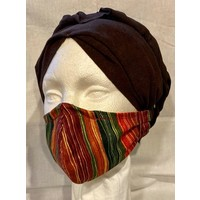 PROTECTIVE MASK, FABRIC - KWANZAA-INSPIRED