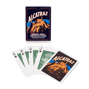 Golden Gate National Park Association ALCATRAZ RULES PLAYING CARDS