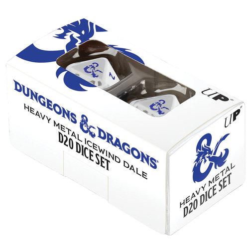Ultra Pro International DICE: D&D: ICEWIND DALE HEAVY METAL D20  SET