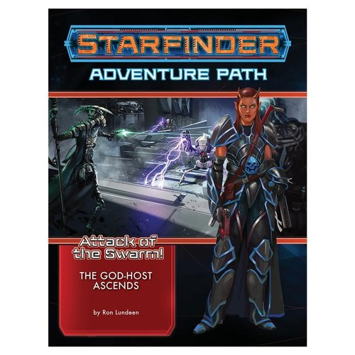 Paizo Publishing STARFINDER: ADVENTURE PATH: ATTACK OF THE SWARM 6 - THE GOD-HOST ACENDS